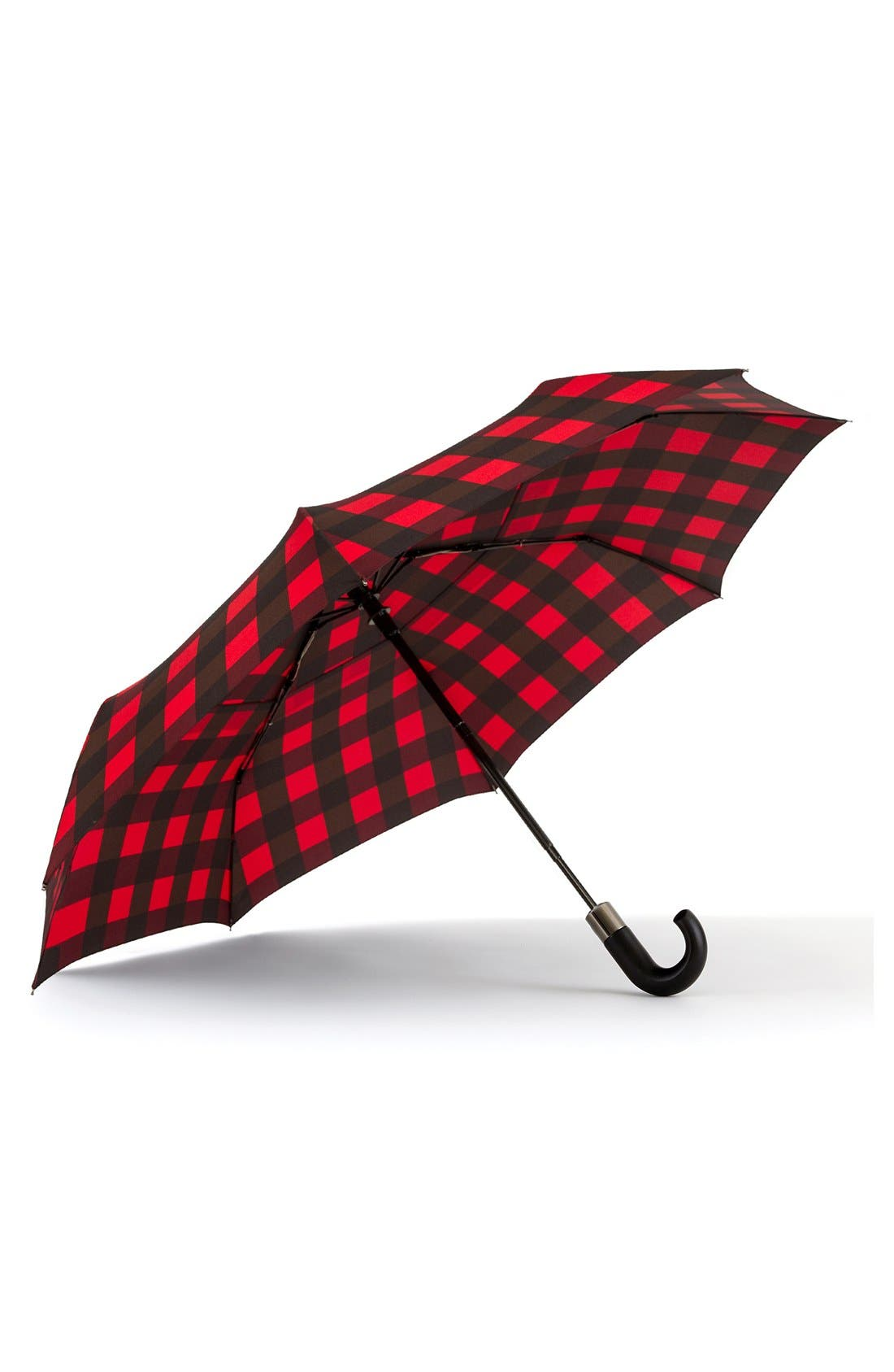 'WindPro<sup>®</sup>' Auto Open & Close Umbrella,                             Main thumbnail 1, color,                             Red