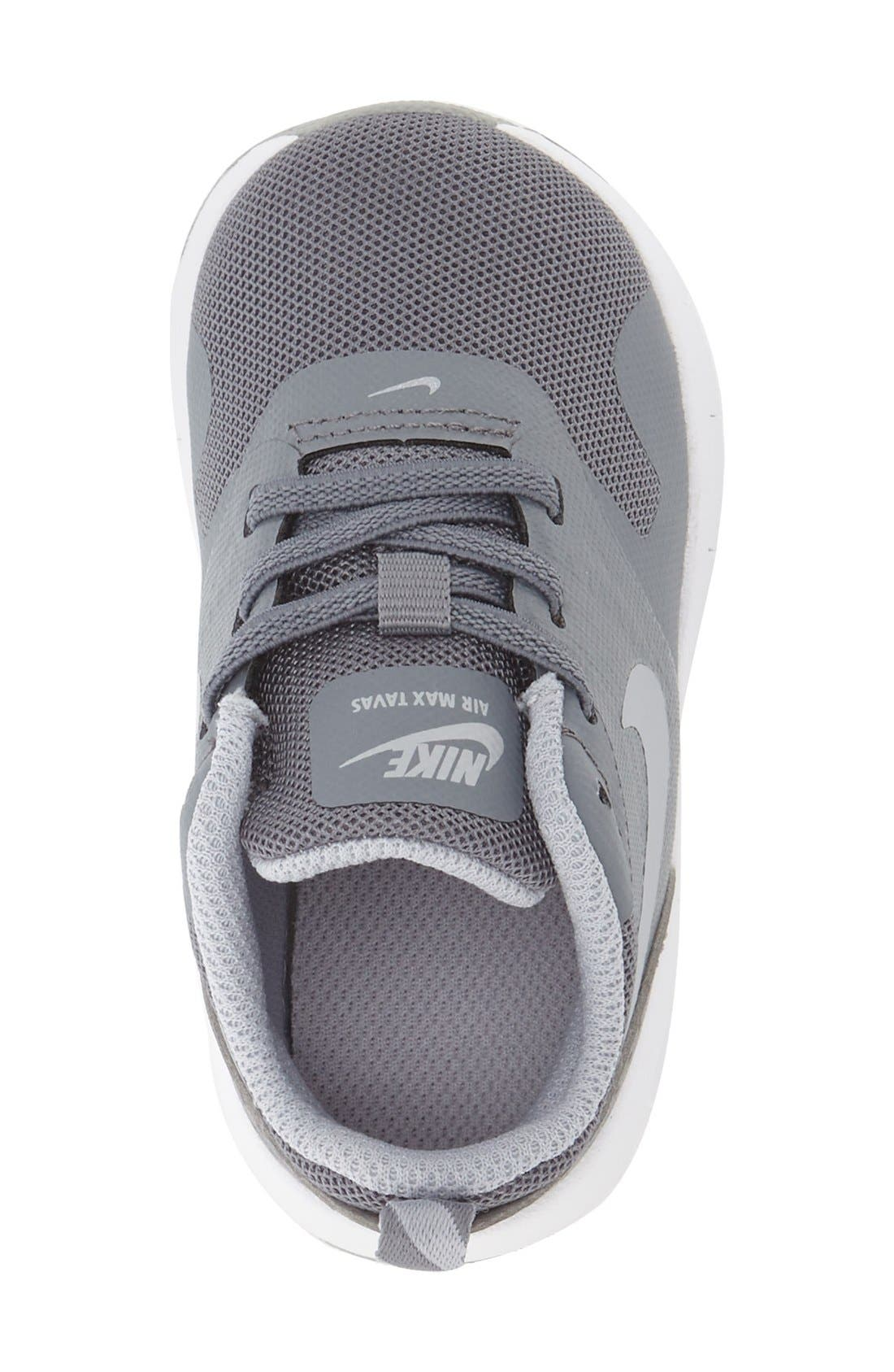 Alternate Image 4  - Nike Air Max Tavas Sneaker (Walker, Toddler & Little Kid)