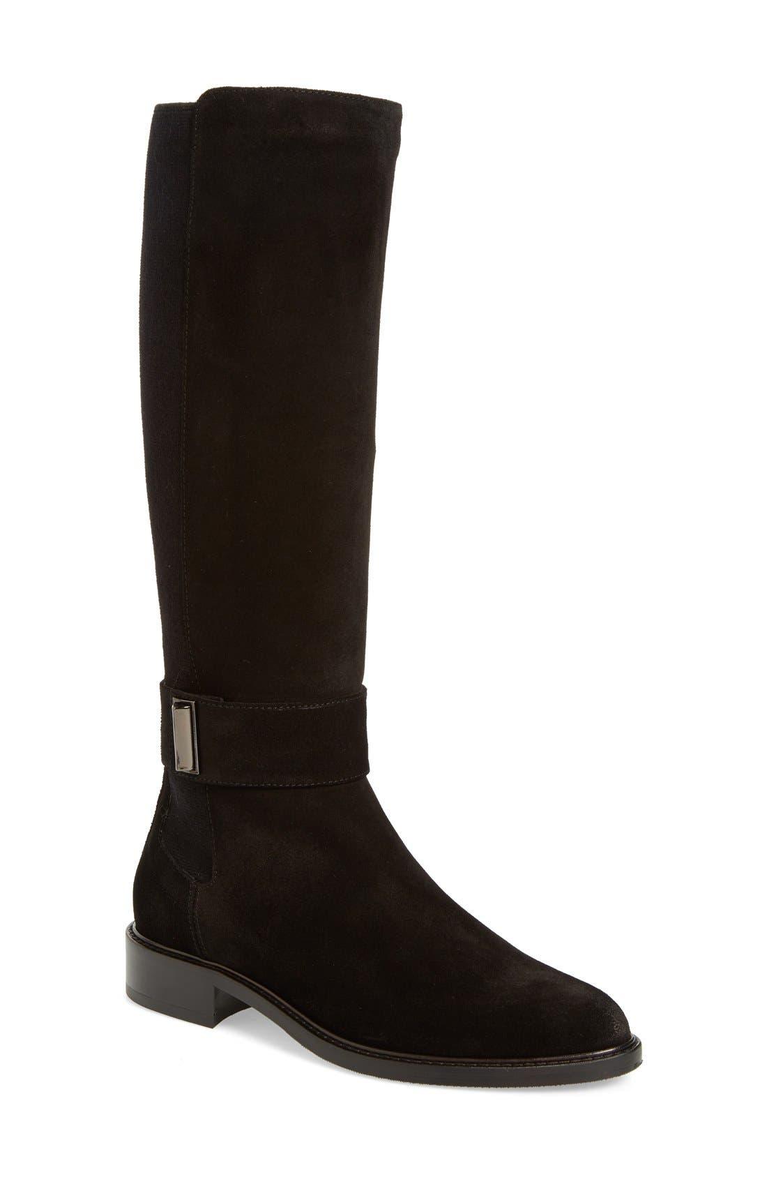 Women's Boots/aquatalia navy suede giada fh8p56d9