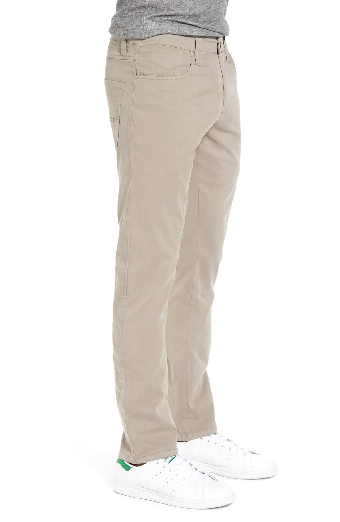 Alternate Image 3  - Vintage 1946 'Sunny' Slim Fit Stretch Twill Pants