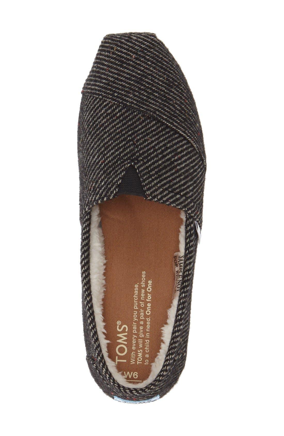 Alternate Image 3  - TOMS Speckled Classic Slip-On (Women)
