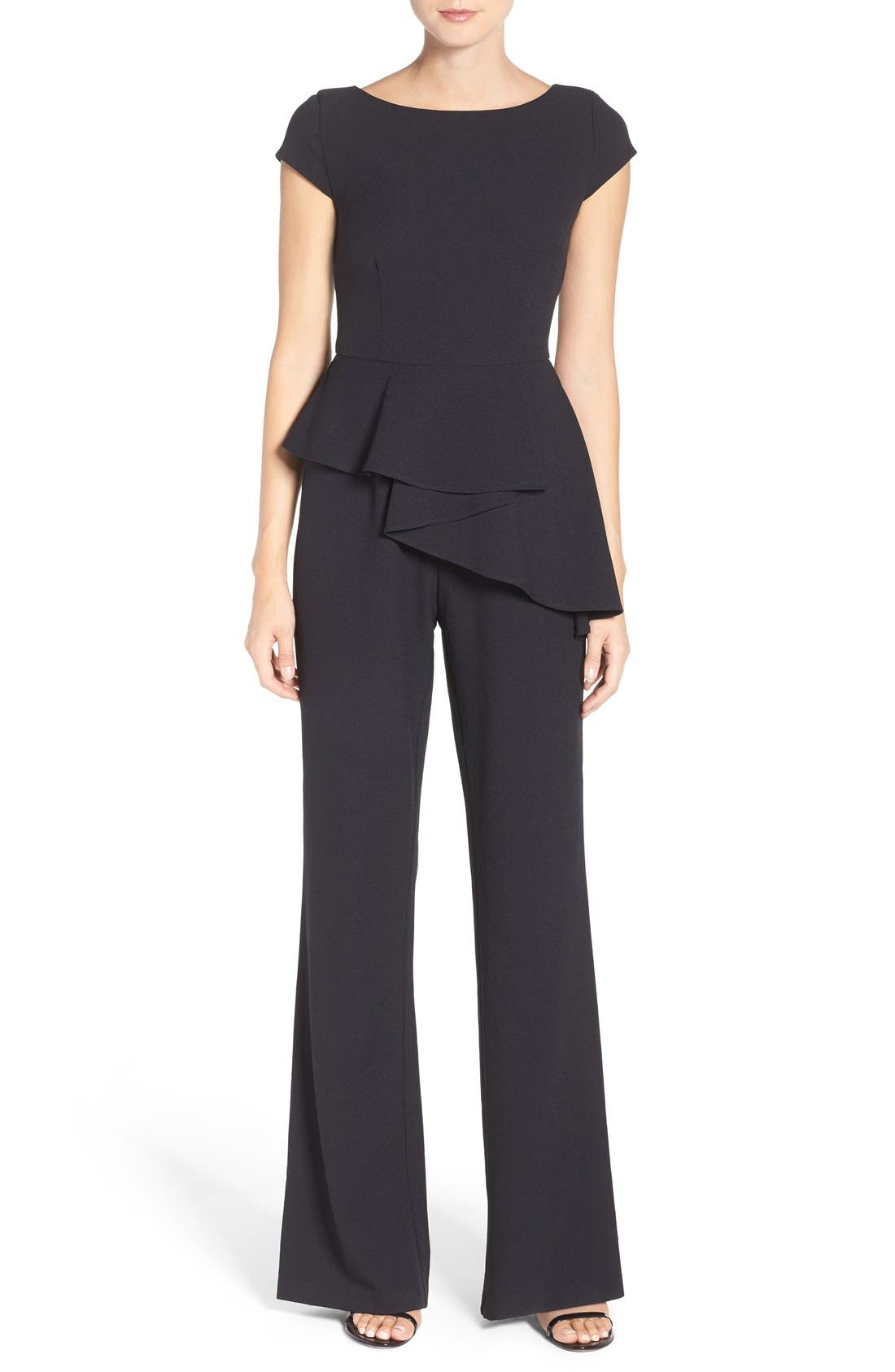 Eliza J Wide Leg Jumpsuit (Regular & Petite)