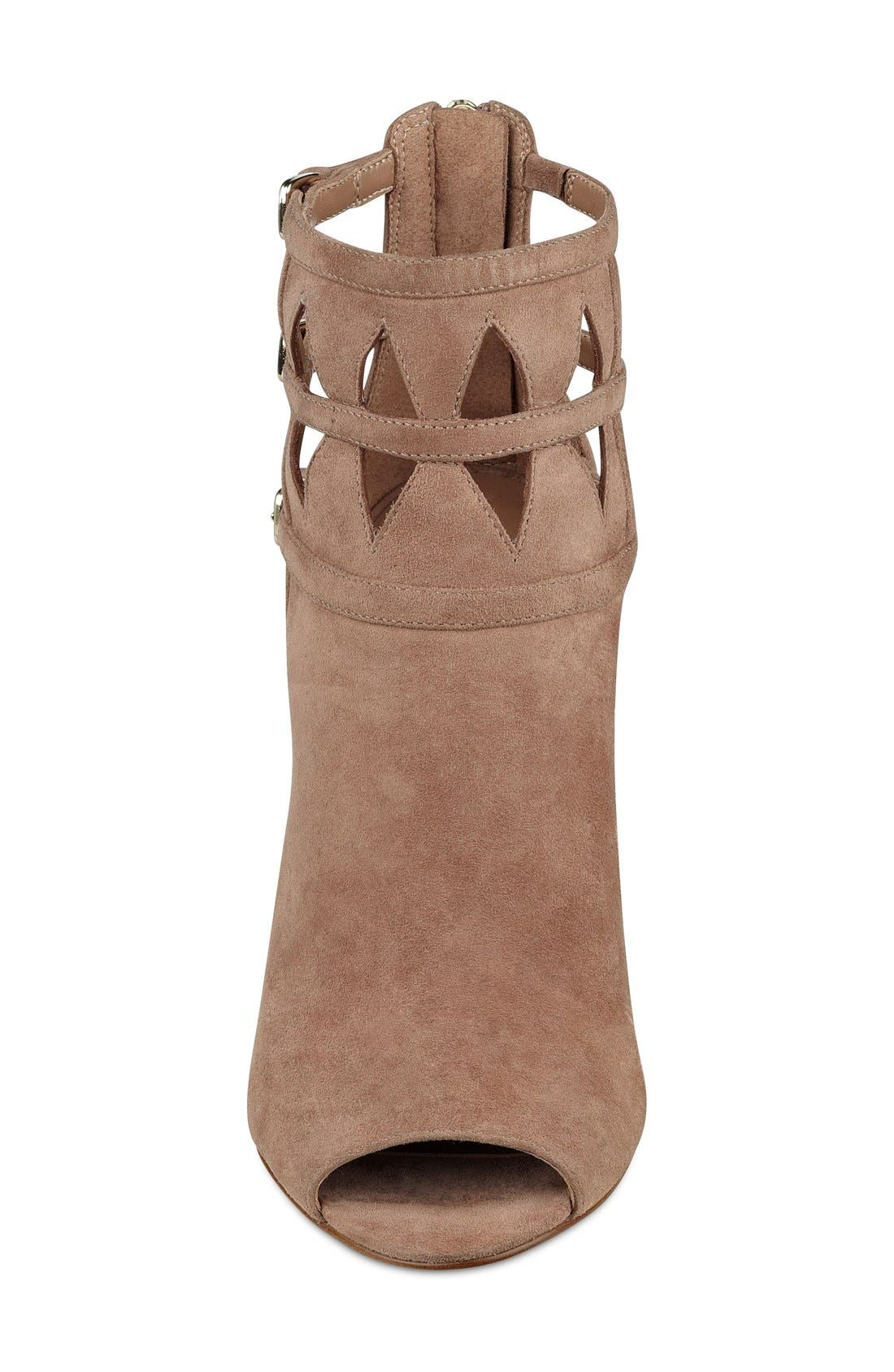 Alternate Image 3  - Nine West 'Laulani' Cutout Peep Toe Bootie (Women)