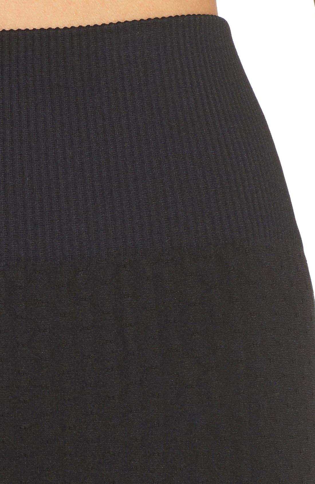 'Trail Blazer' High Waist Leggings,                             Alternate thumbnail 4, color,                             Black Melange