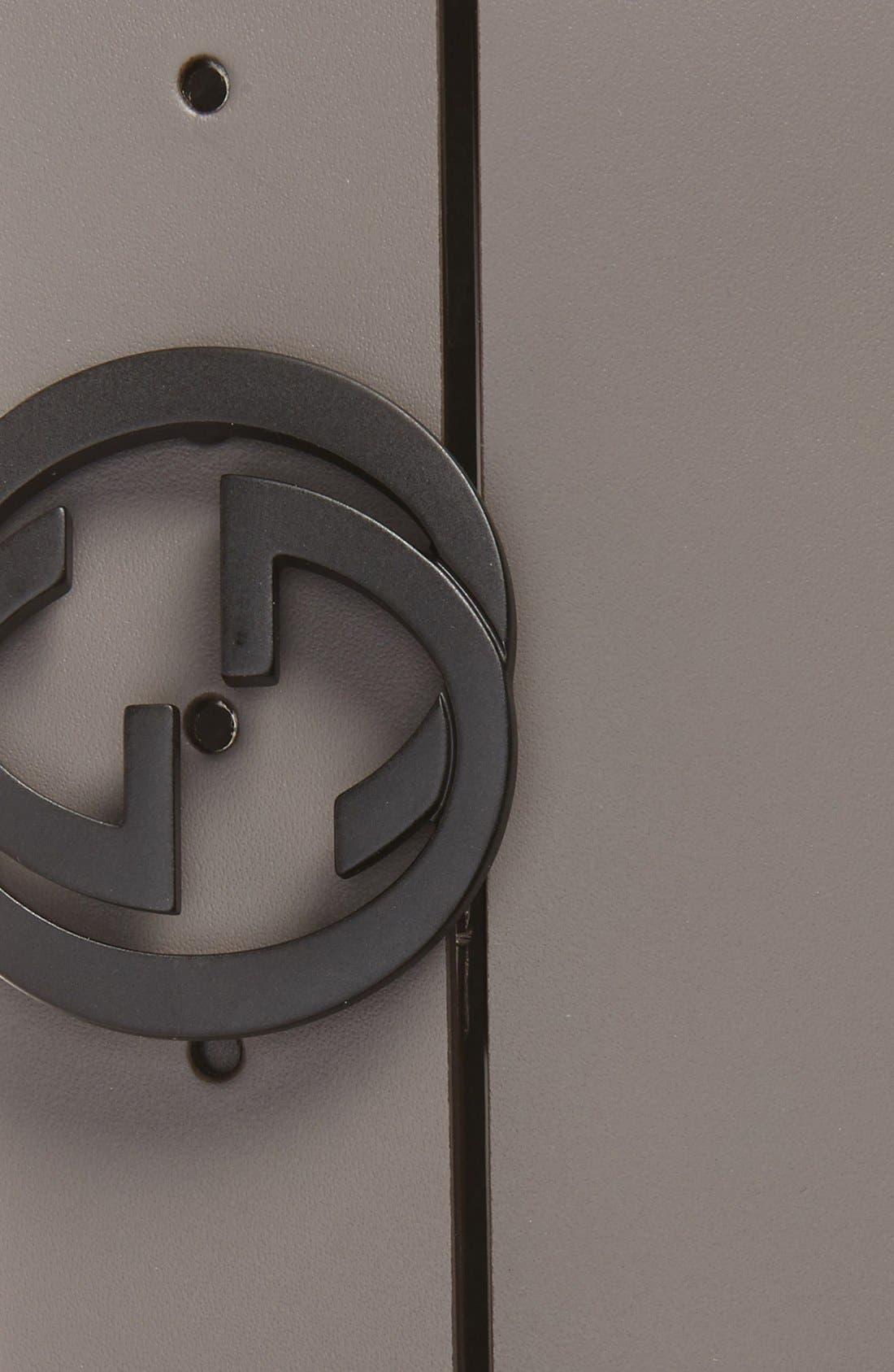 Alternate Image 2  - Gucci Logo Leather Belt