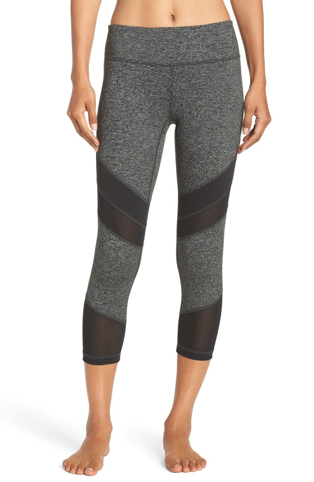 Zella 'Live In - Electric Mix' Crop Leggings