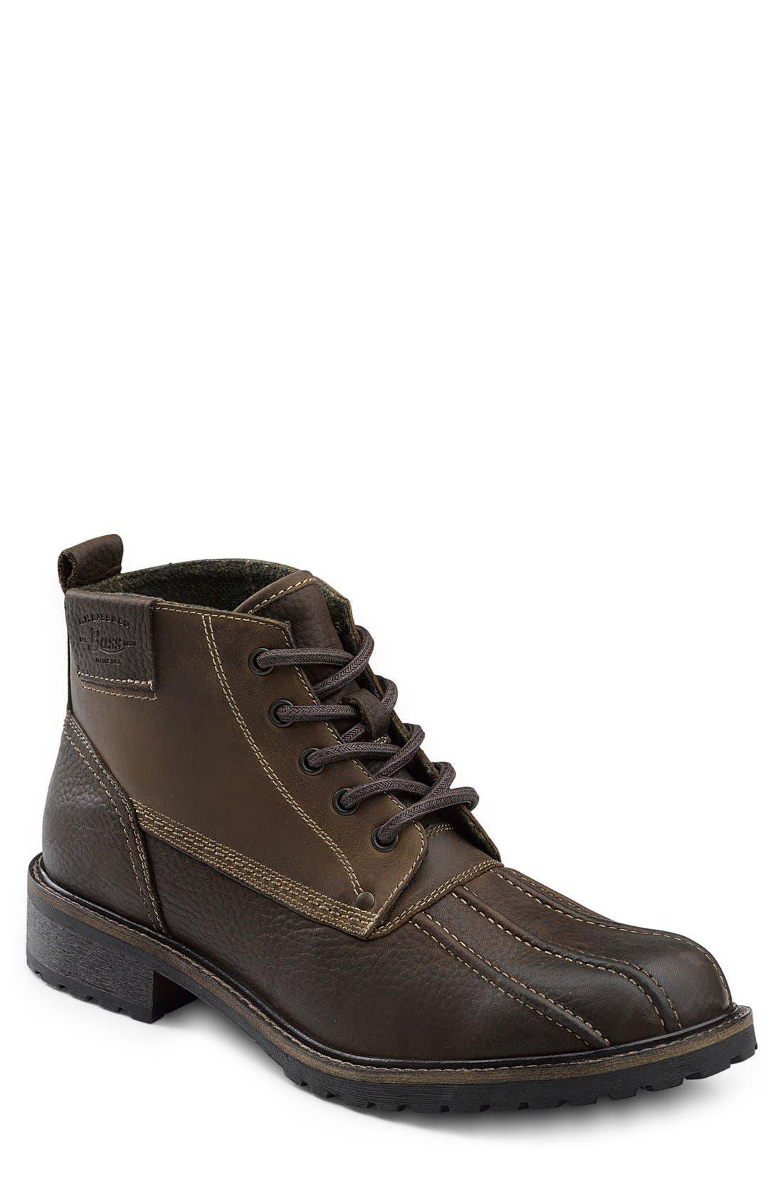 G.H. Bass & Co. 'Brigg' Plain Toe Boot (Men)