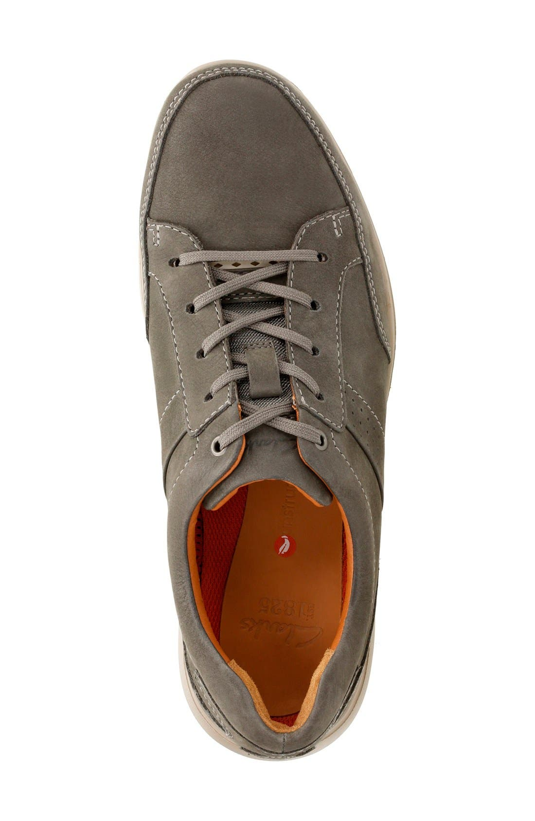 Alternate Image 3  - Clarks® 'Unstructured - Lomac' Leather Sneaker (Men)