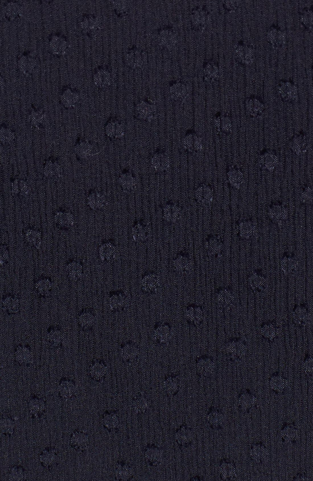 Alternate Image 6  - Olivia Palermo + Chelsea28 Tiered Sleeve Silk Top