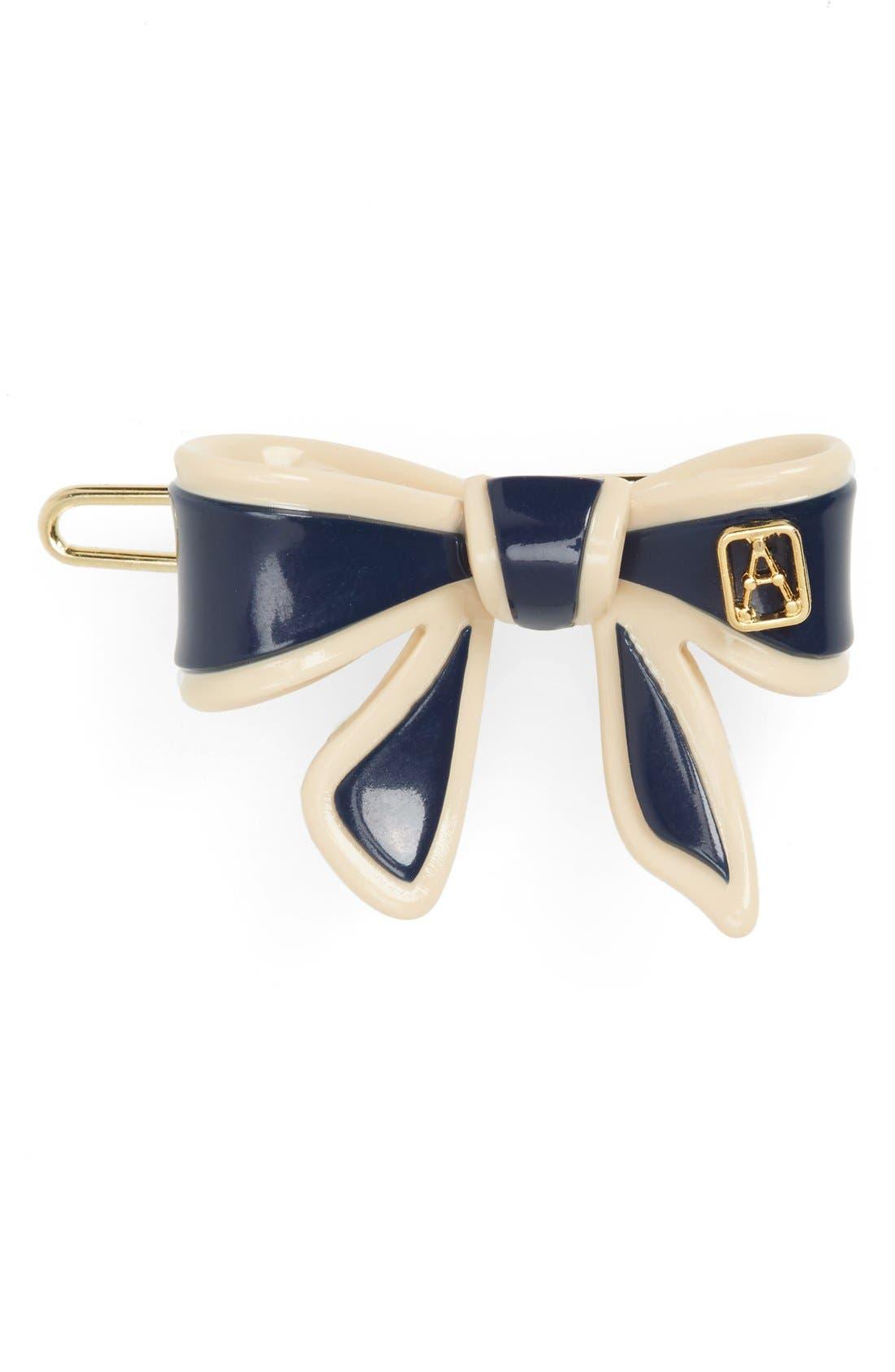 Alternate Image 1 Selected - Alexandre de Paris 'Mini Tenderly' Bow Barrette