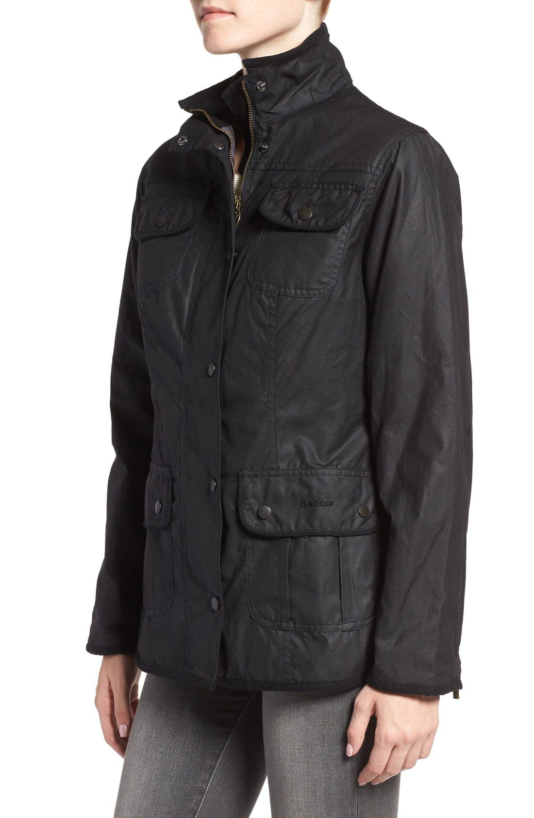 Alternate Image 3  - Barbour Waxed Cotton Utility Jacket