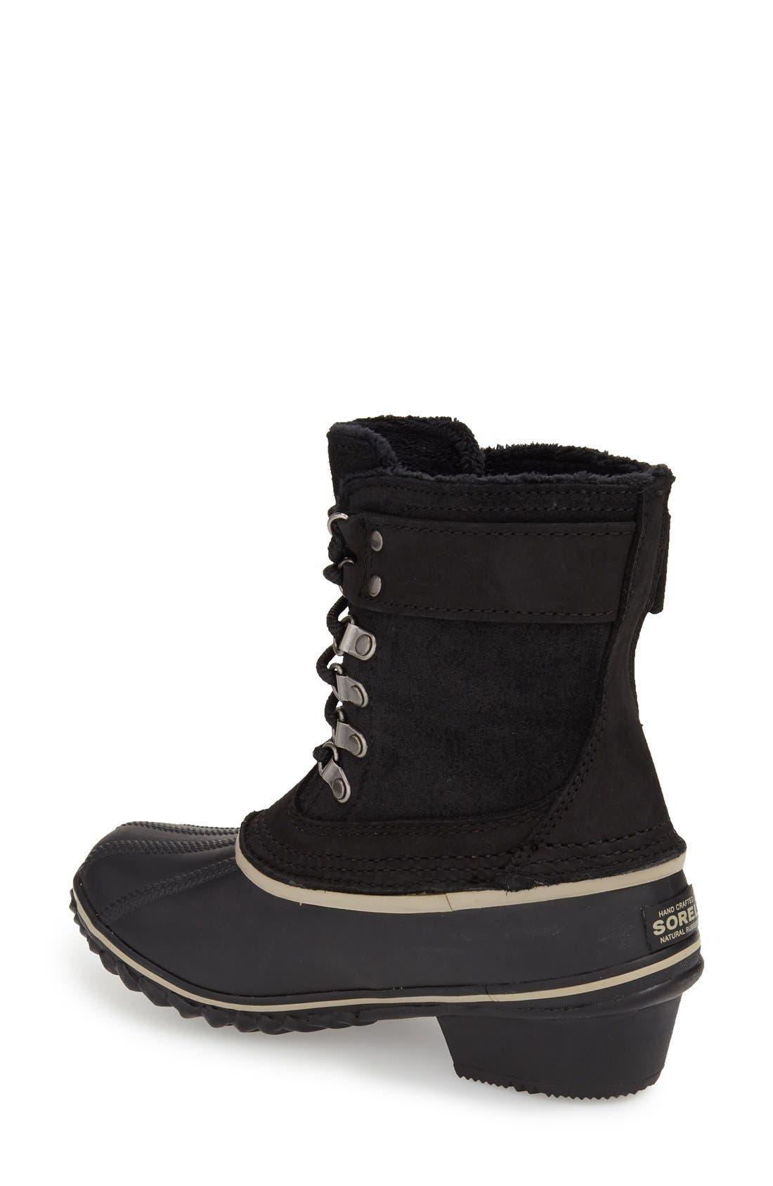 Alternate Image 2  - SOREL 'Winter Fancy II' Waterproof Lace-Up Boot (Women)