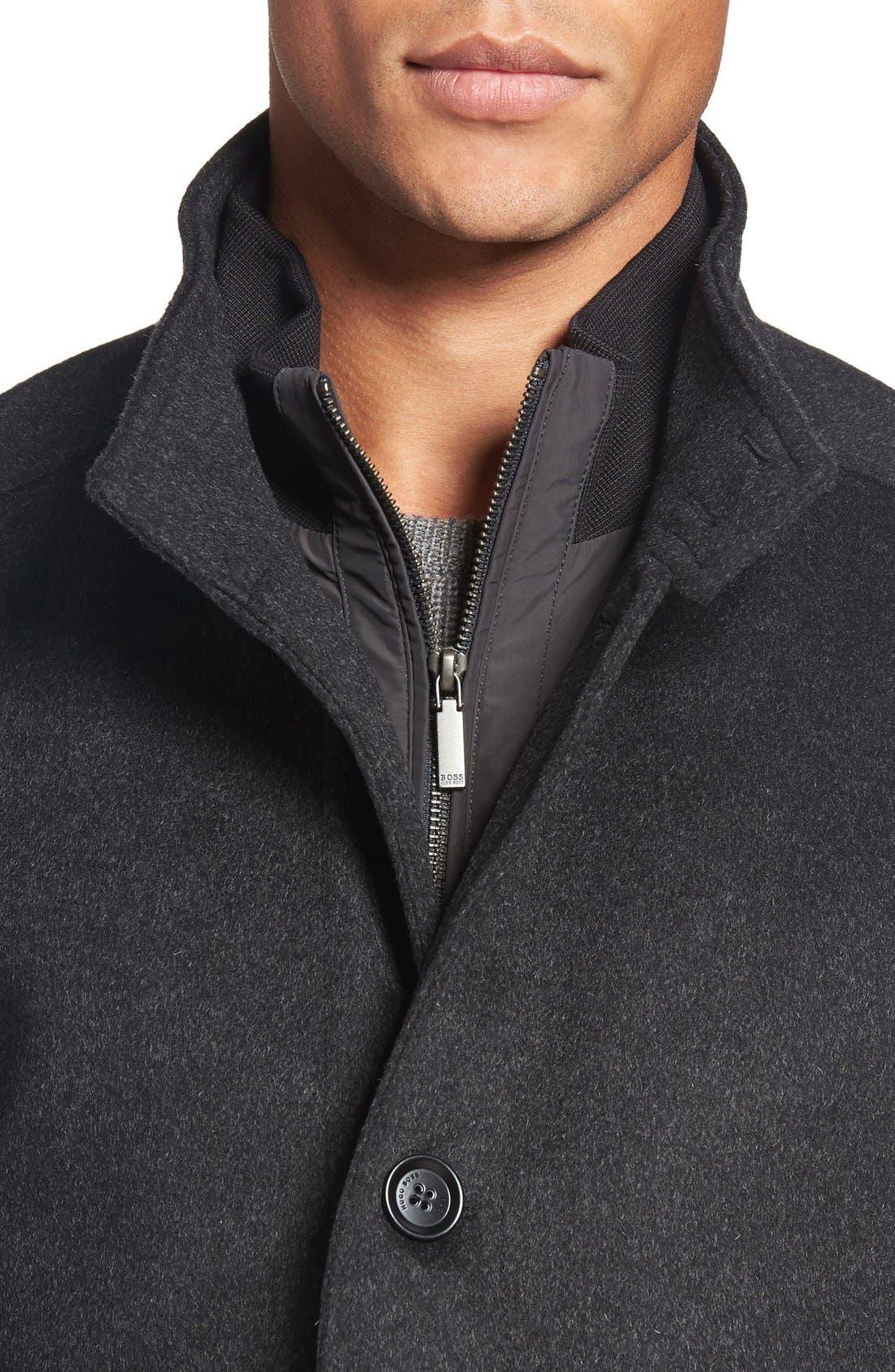 Alternate Image 4  - BOSS 'Camlow' Wool & Cashmere Car Coat