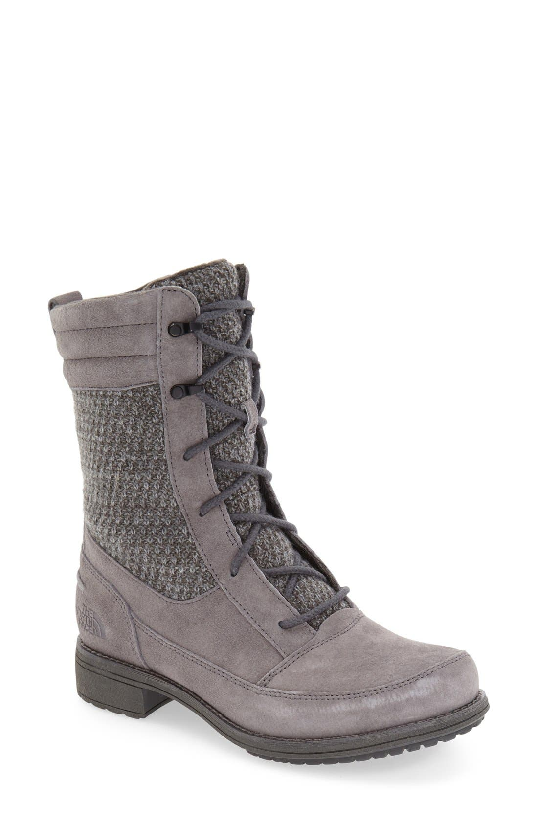 Alternate Image 1 Selected - The North Face 'Bridgeton Lace' Waterproof Boot (Women)
