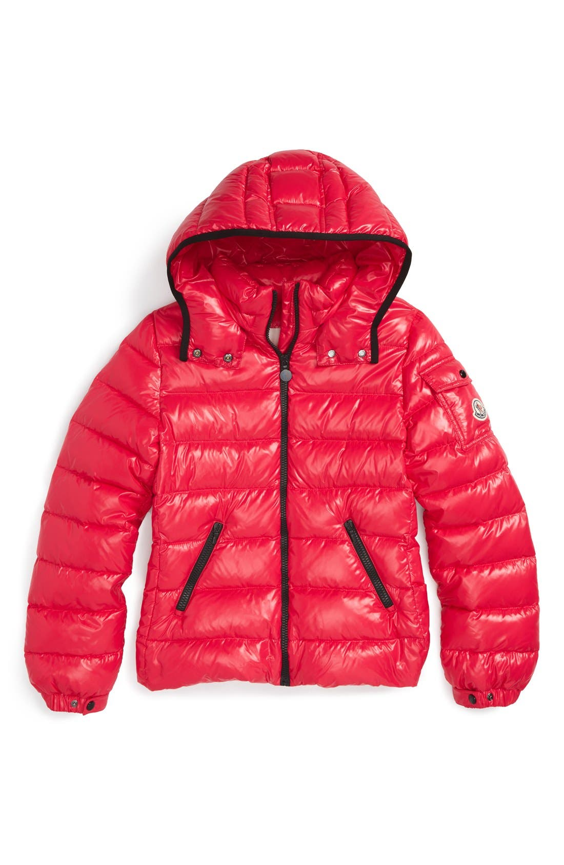 Main Image - Moncler 'Bady' Hooded Down Jacket (Toddler Girls, Little Girls & Big Girls)