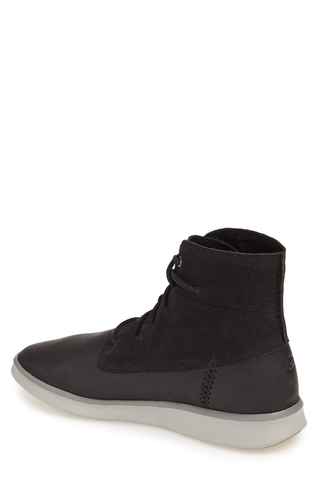 Alternate Image 2  - UGG® 'Lamont' High Top Sneaker (Men)