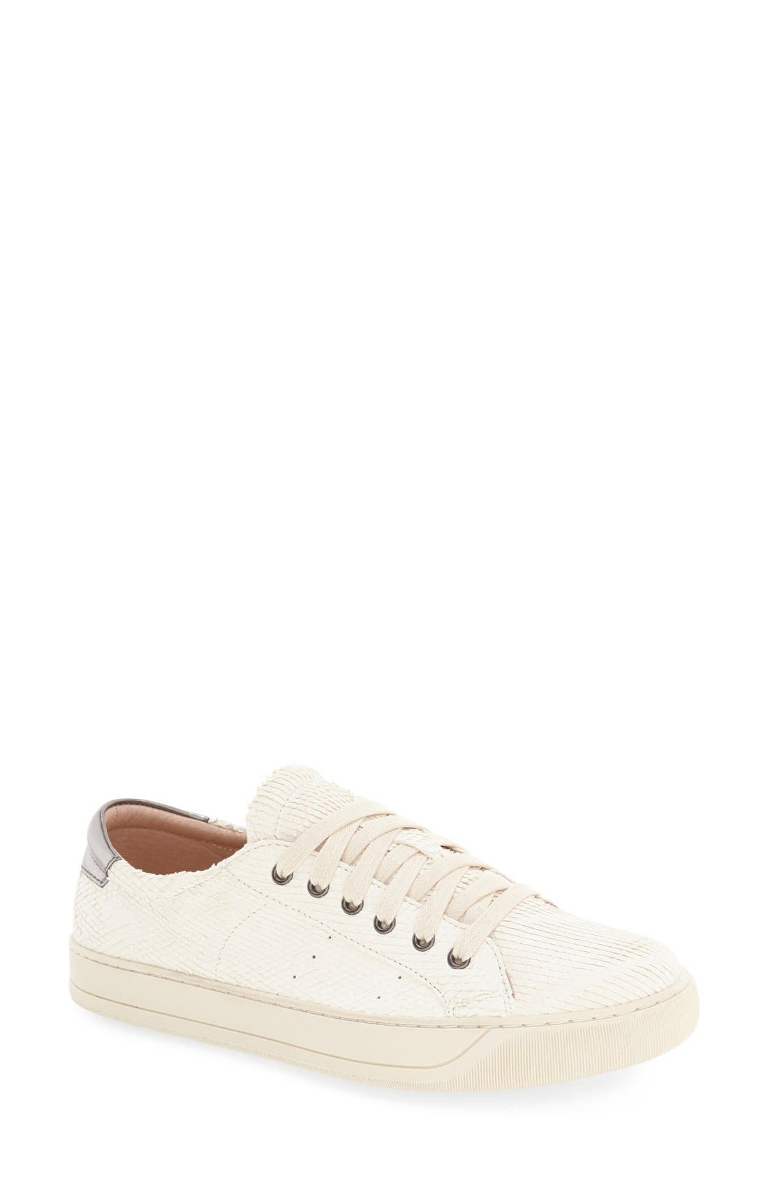 'Emerson' Sneaker,                         Main,                         color, Off White Snake Print Leather