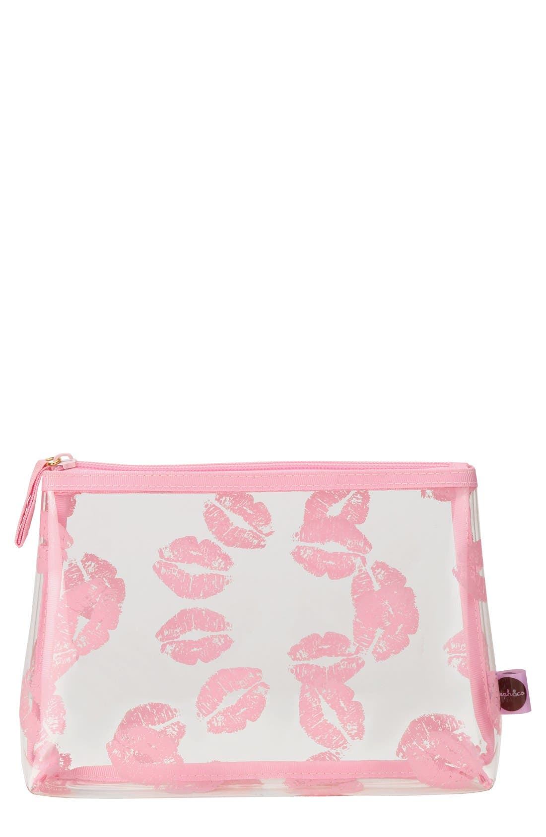steph&co. Small Print Cosmetics Case (Limited Edition) (Nordstrom Exclusive)