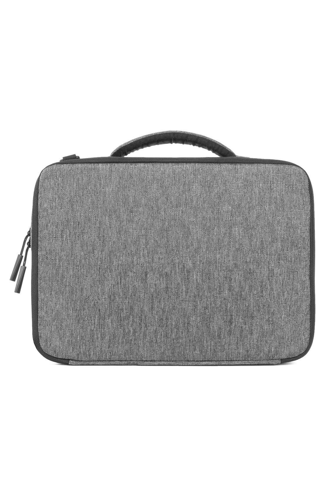 """'Reform' 13"""" Laptop Briefcase,                             Alternate thumbnail 2, color,                             Heather Black"""