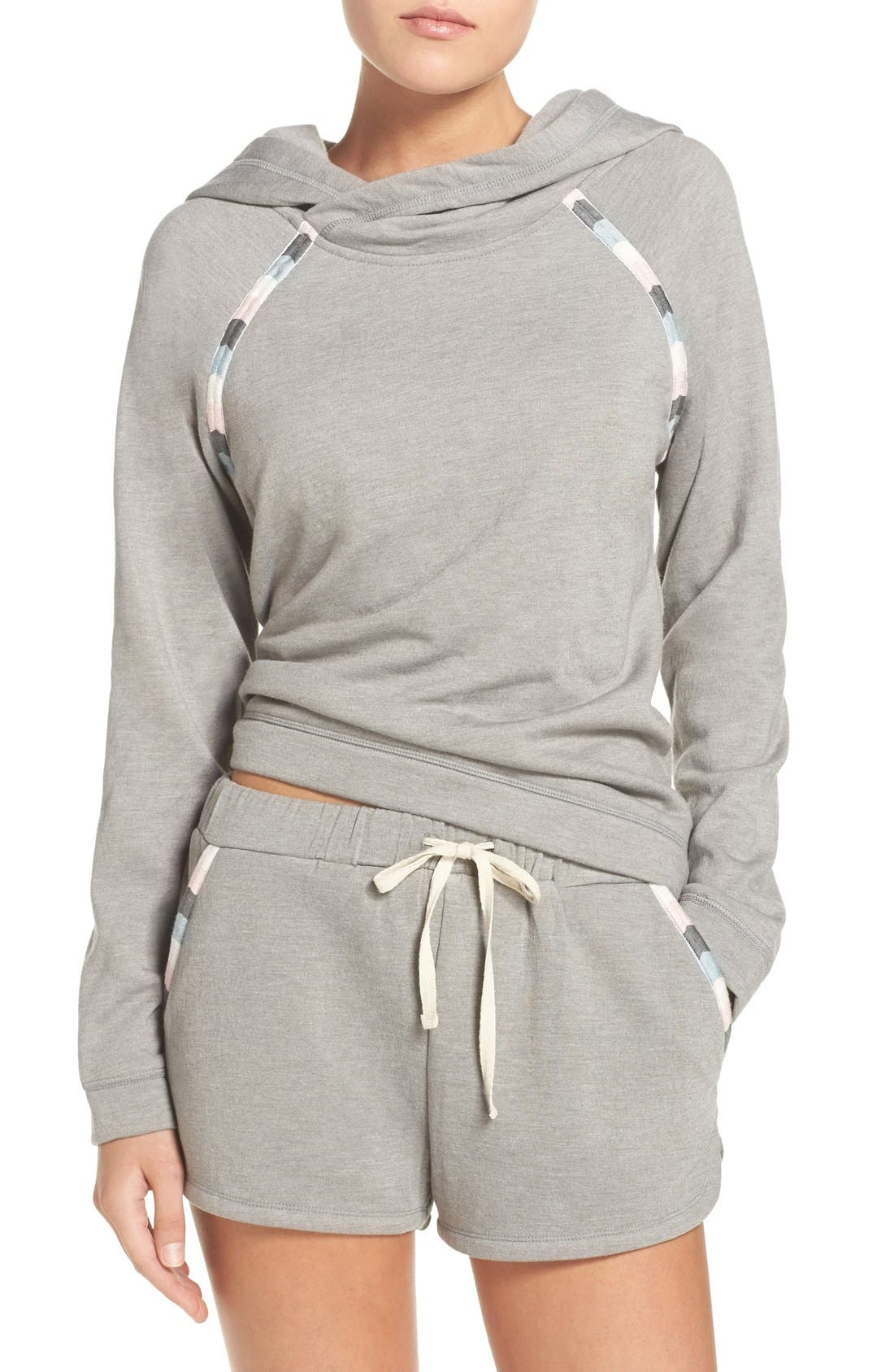 Alternate Image 1 Selected - Lucky Brand Fleece Hoodie