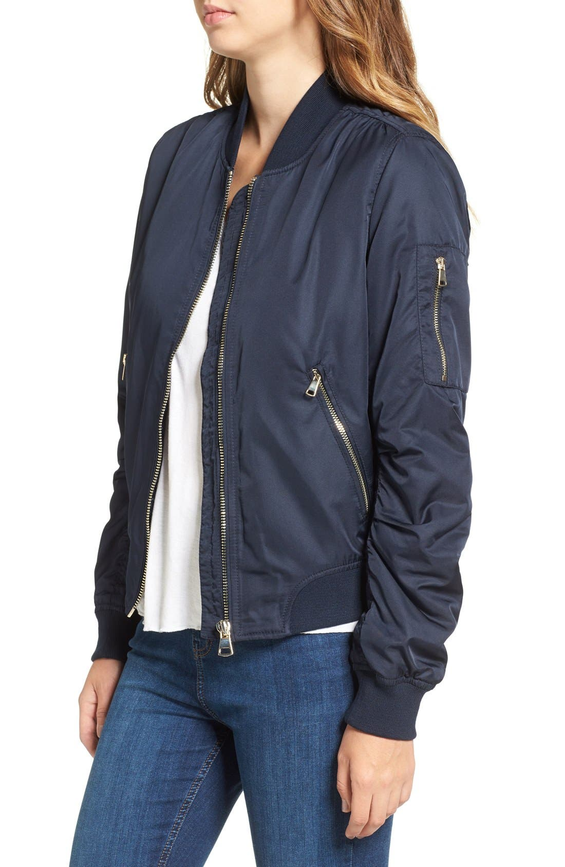 Alternate Image 3  - Topshop MA1 Bomber Jacket