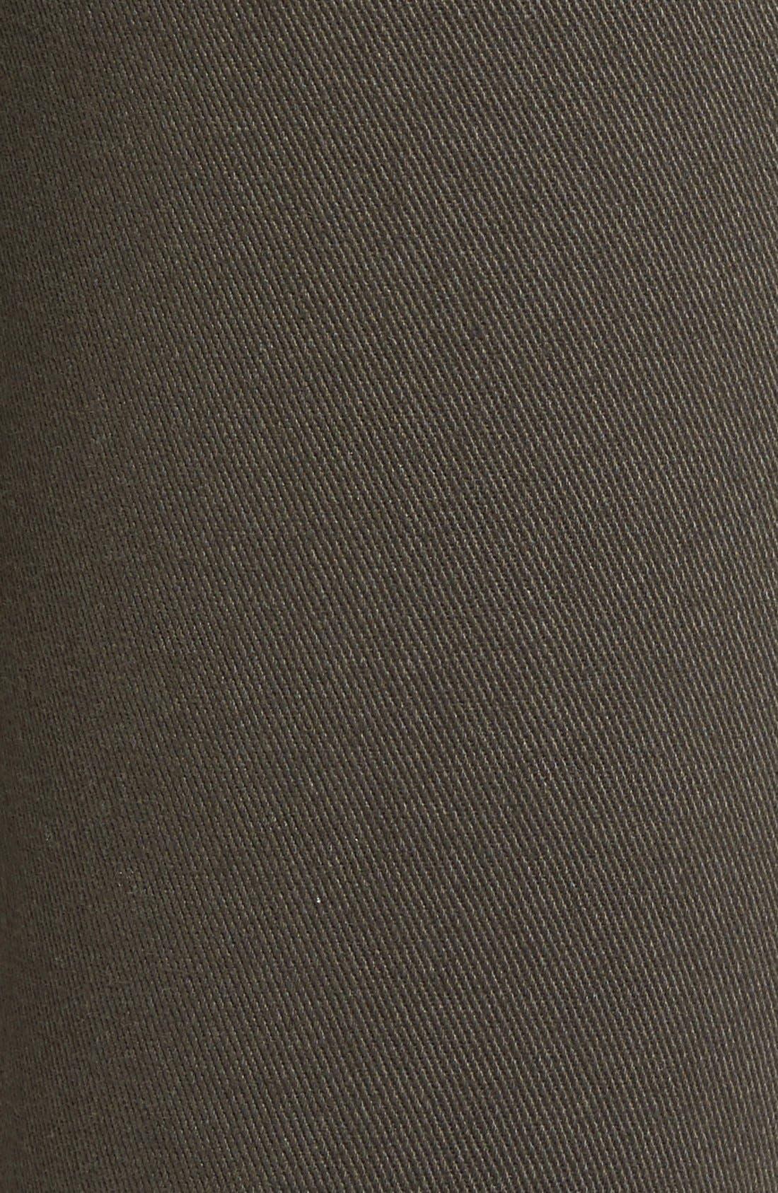 Alternate Image 5  - STS Blue 'Piper' Deconstructed Skinny Jeans (Dark Olive)