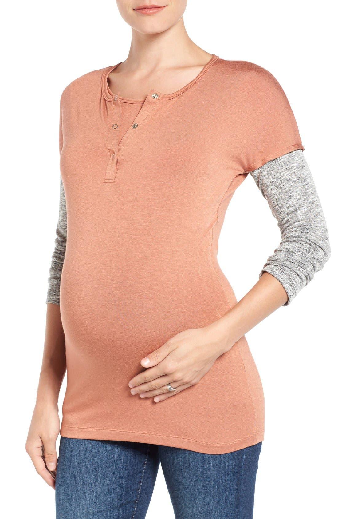 LAB40 'Maya' Maternity/Nursing Top