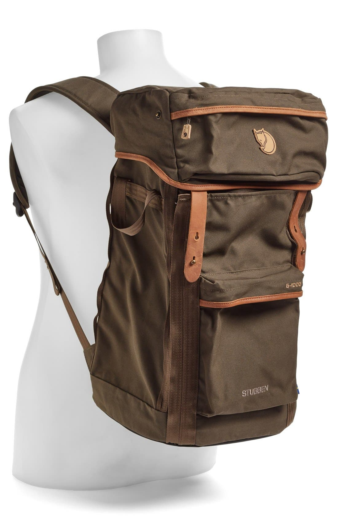 'Stubben' Backpack,                             Alternate thumbnail 2, color,                             Dark Olive