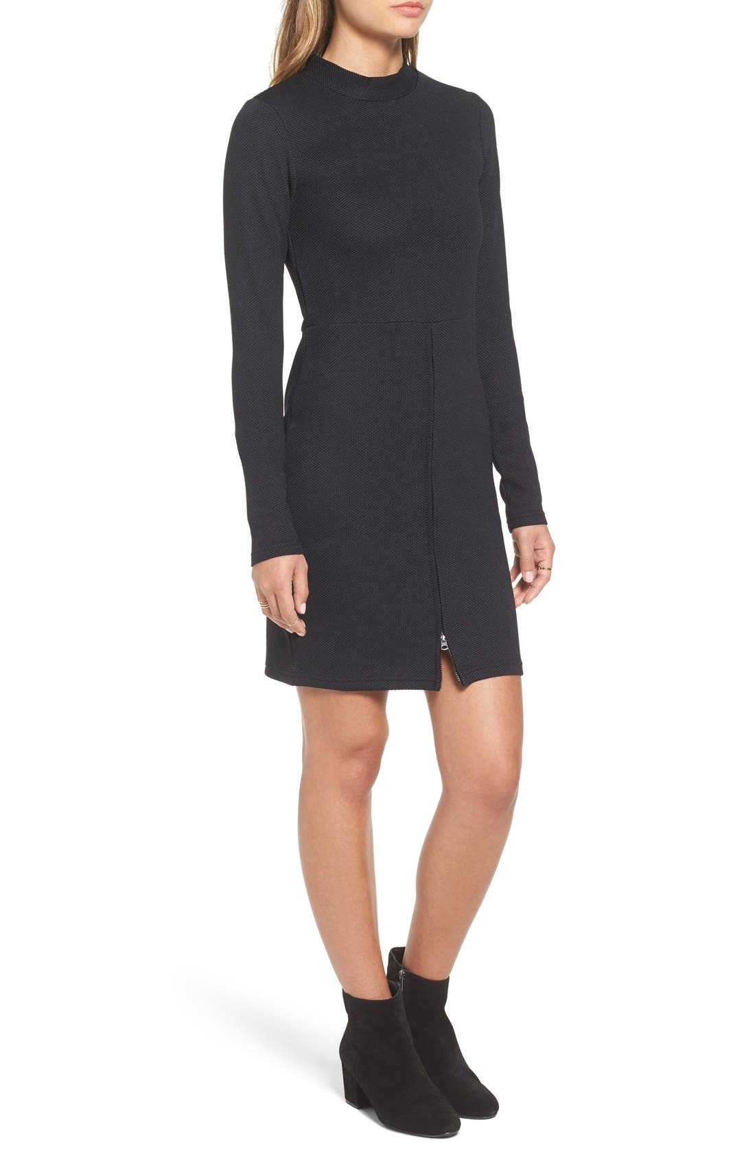 Alternate Image 3  - Cheap Monday 'Shoot' Zip Detail Body-Con Dress