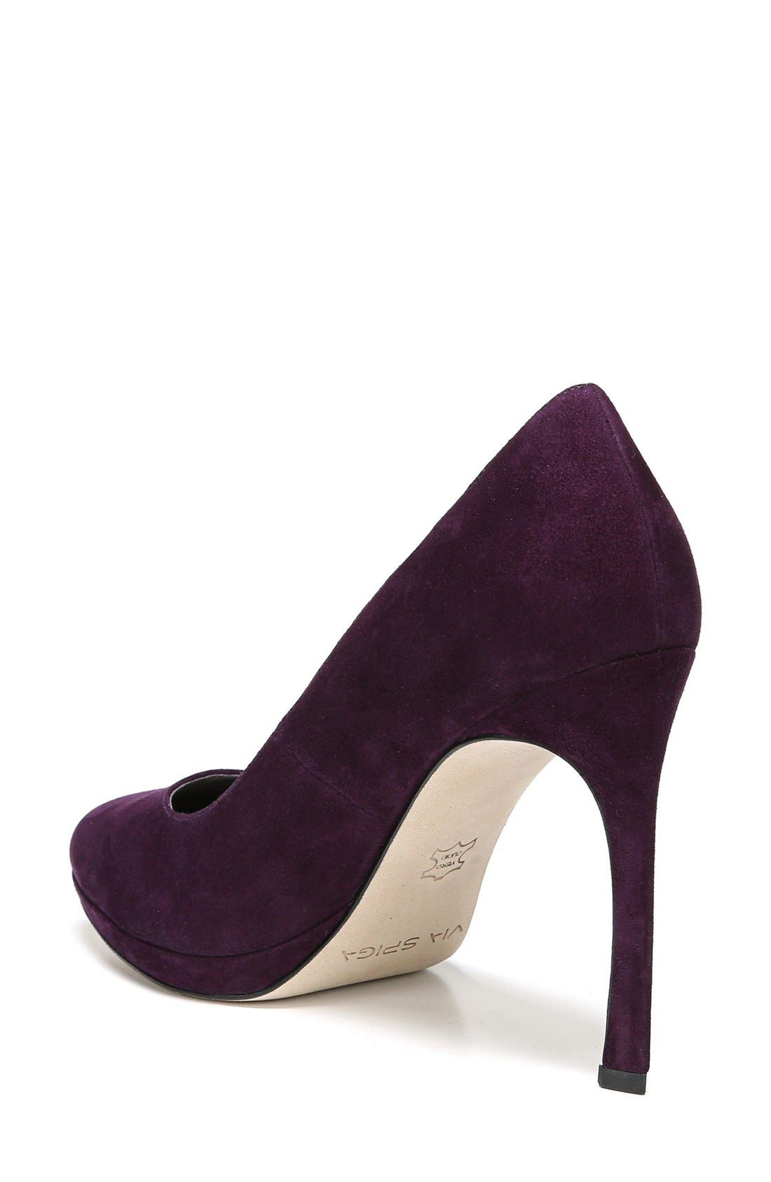 Alternate Image 2  - Via Spiga 'Siena' Platform Pump (Women)