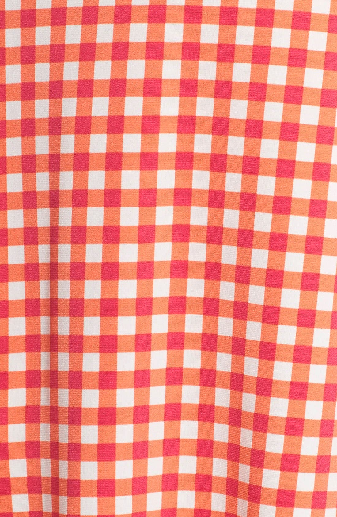 Alternate Image 7  - Leota Print Jersey Faux Wrap Dress