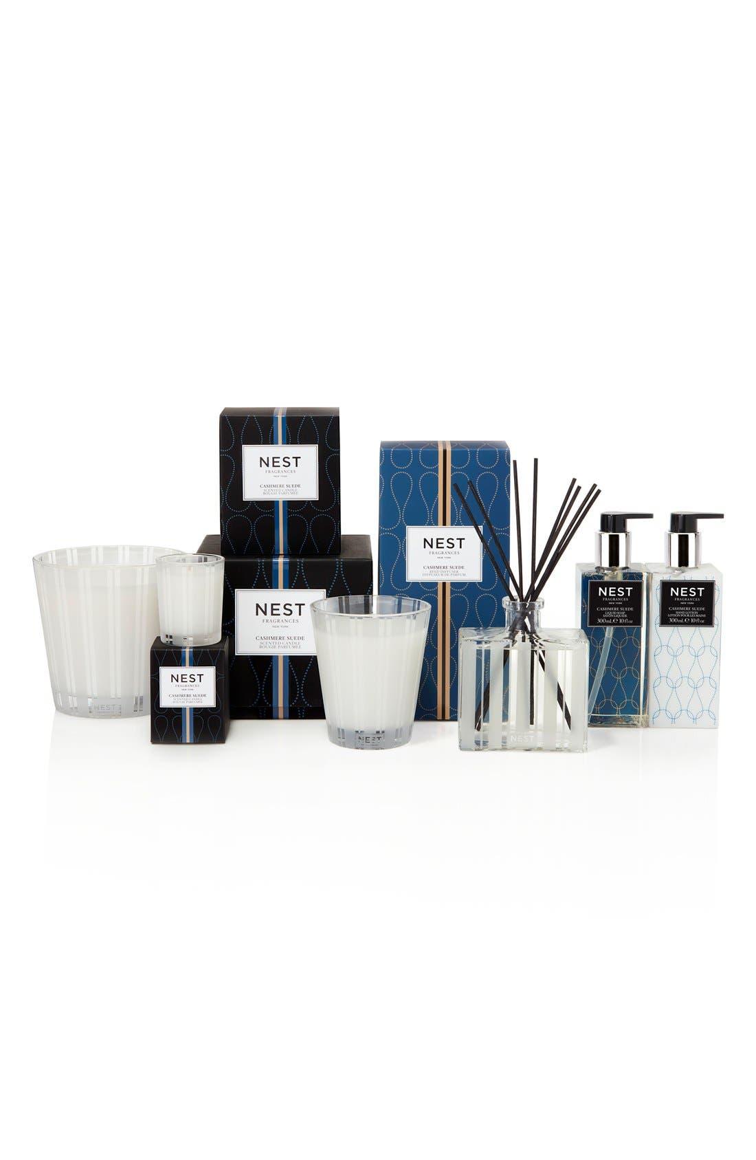 Alternate Image 2  - NEST Fragrances Cashmere Suede Reed Diffuser