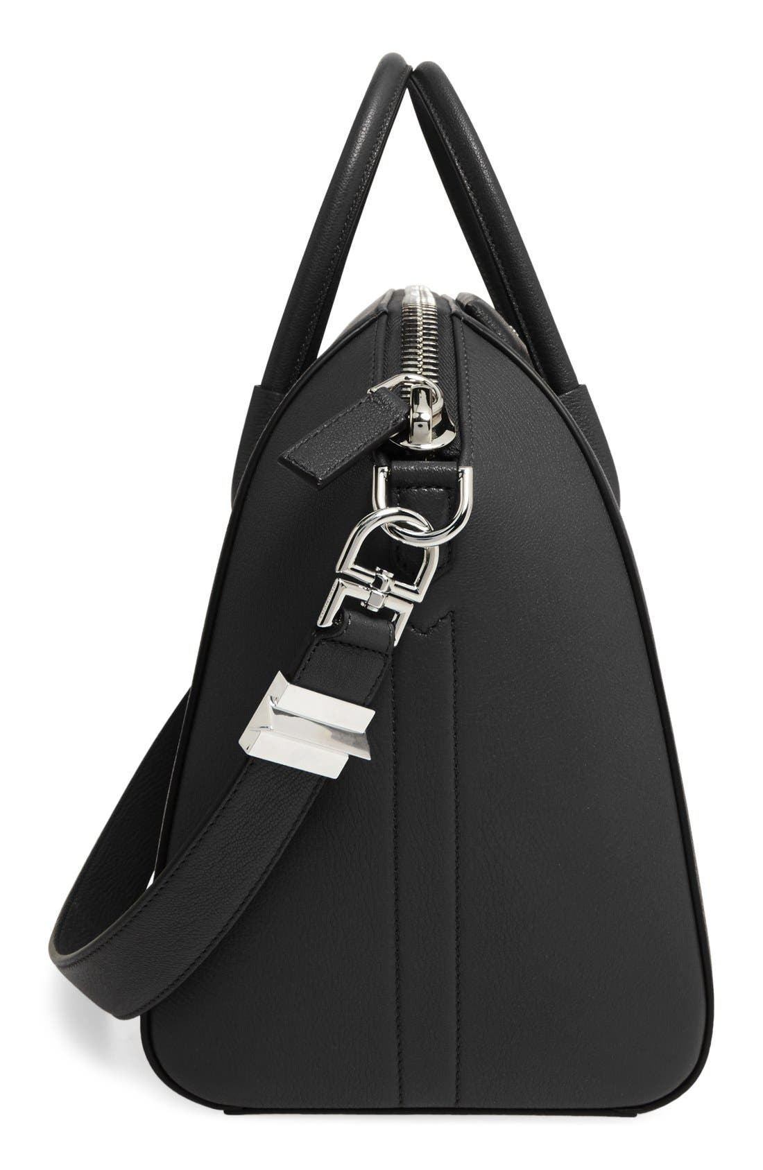 Alternate Image 5  - Givenchy 'Medium Antigona' Sugar Leather Satchel