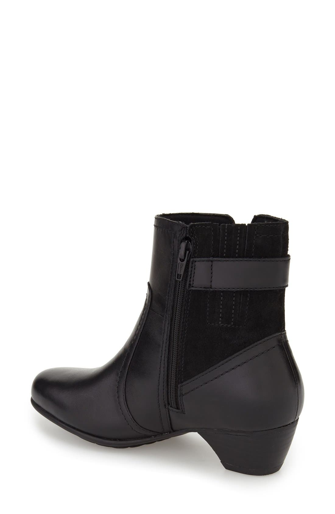 Alternate Image 2  - Aravon 'Patrina' Waterproof Zip Bootie (Women)