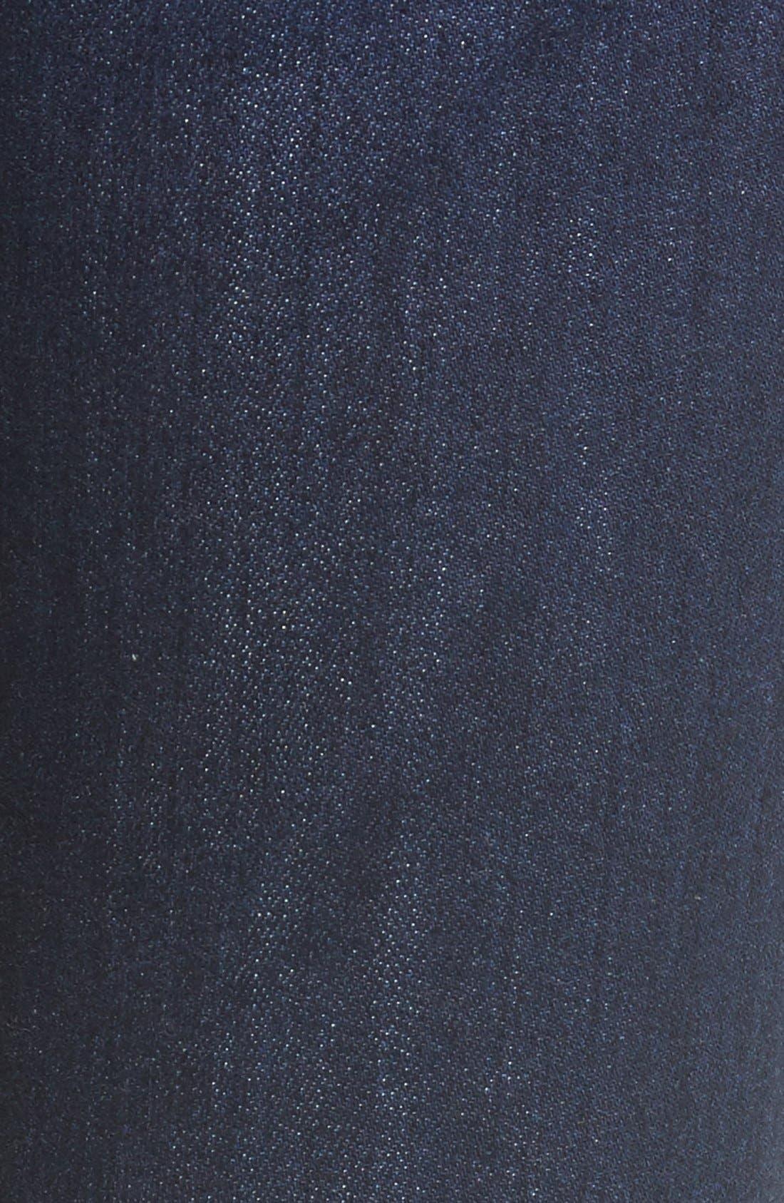'Emma' Release Hem Skinny Jeans,                             Alternate thumbnail 5, color,                             East La Canada