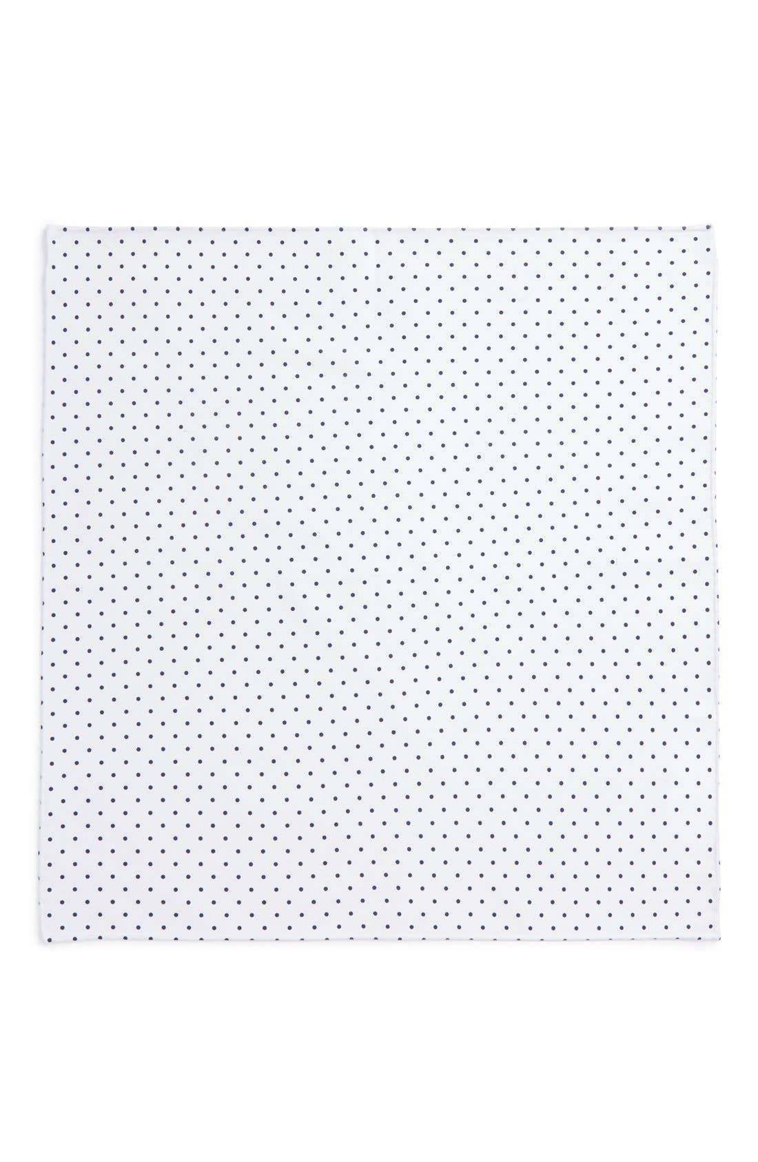 Alternate Image 2  - Ted Baker London Polka Dot Cotton Pocket Square