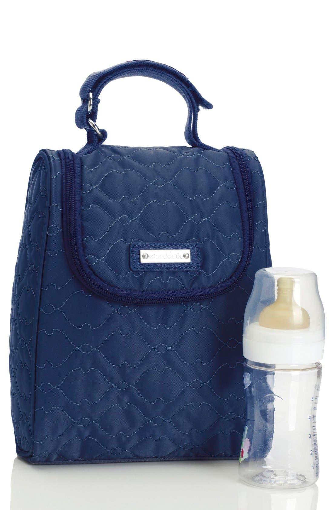 'Anna' Diaper Bag,                             Alternate thumbnail 6, color,                             Navy