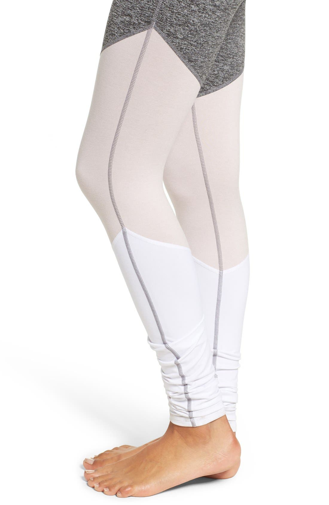 Alternate Image 4  - Free People 'Intuition' High Waist Colorblock Leggings
