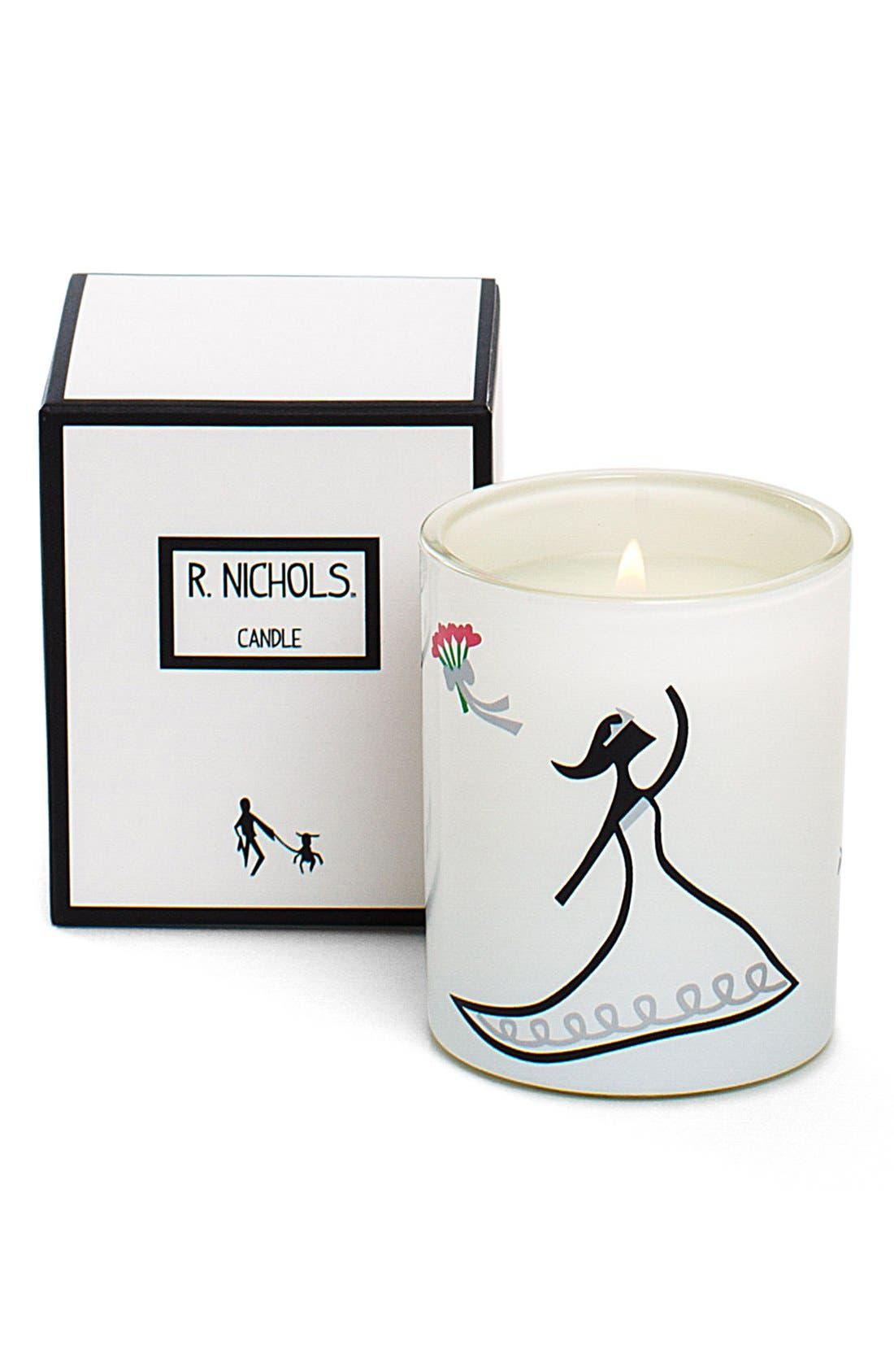 'Toss' Mini Scented Candle,                             Alternate thumbnail 2, color,                             No Color