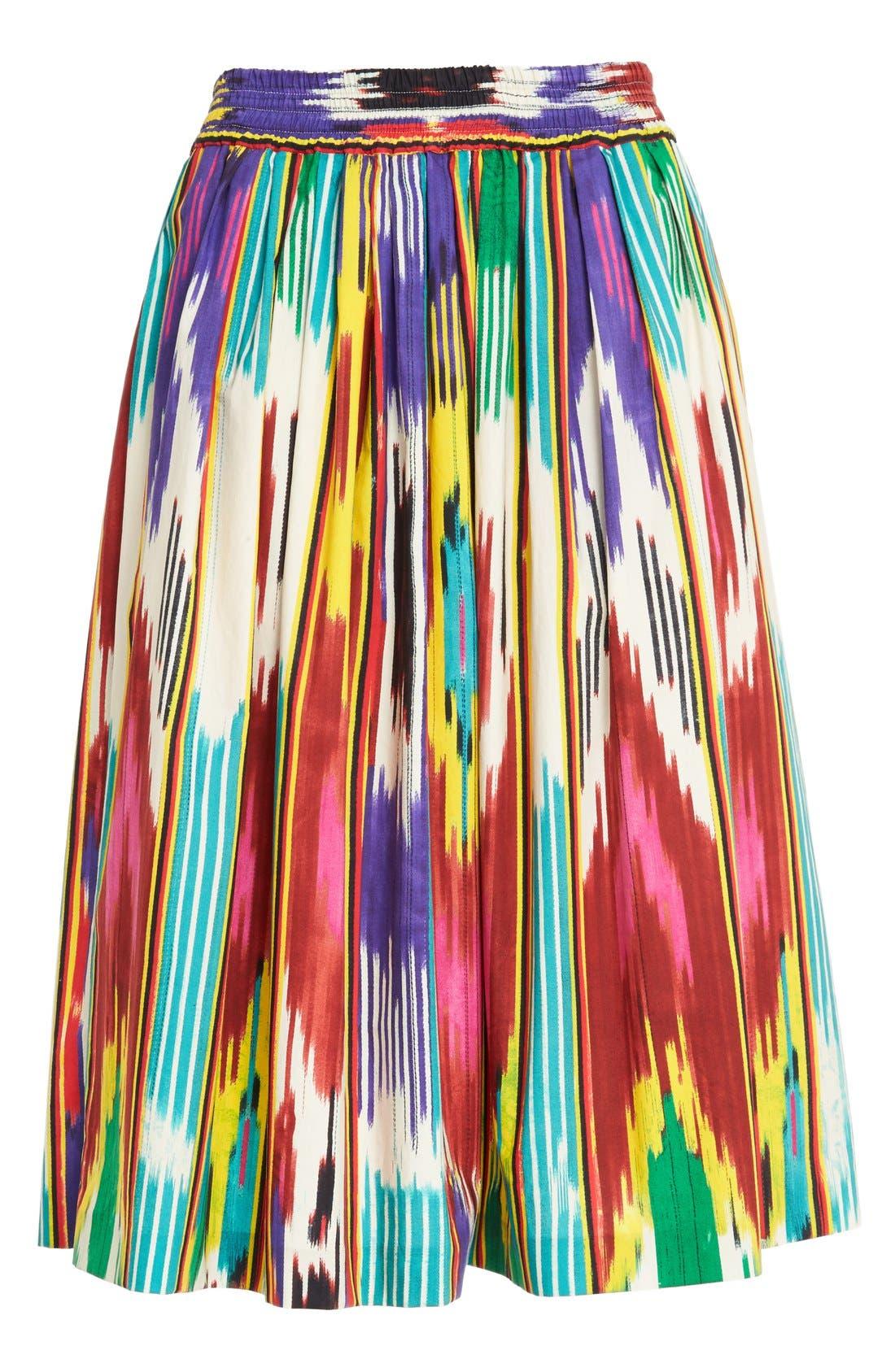 Alternate Image 4  - Etro Ikat Print Skirt