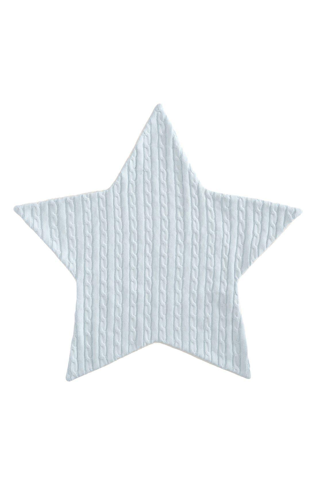 Alternate Image 1 Selected - Elegant Baby Cable Knit Star Blanket