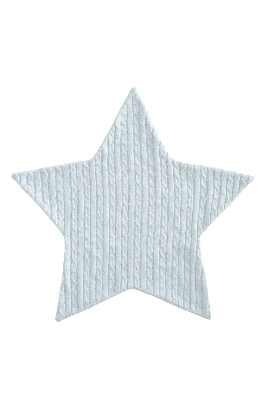 Elegant Baby Cable Knit Star Blanket