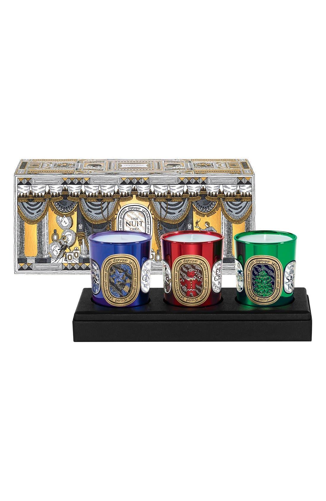 Holiday Candle Trio,                         Main,                         color, No Color