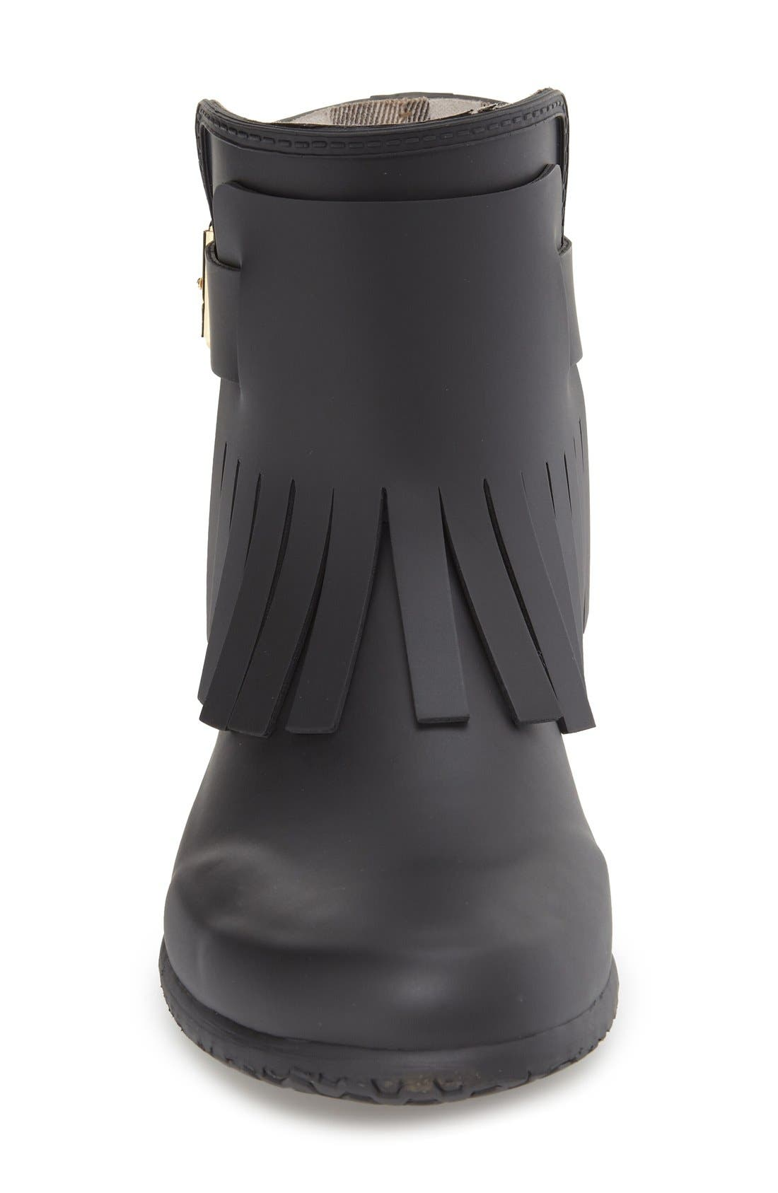 Alternate Image 3  - Burberry 'Fritton' Kiltie Rain Boot (Women)