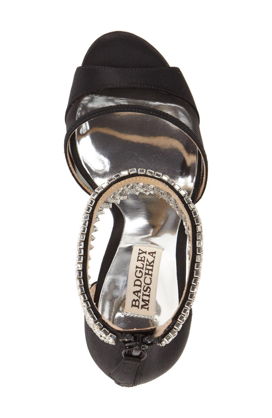 Alternate Image 3  - Badgley Mischka 'Gazelle' Ankle Strap Sandal (Women)