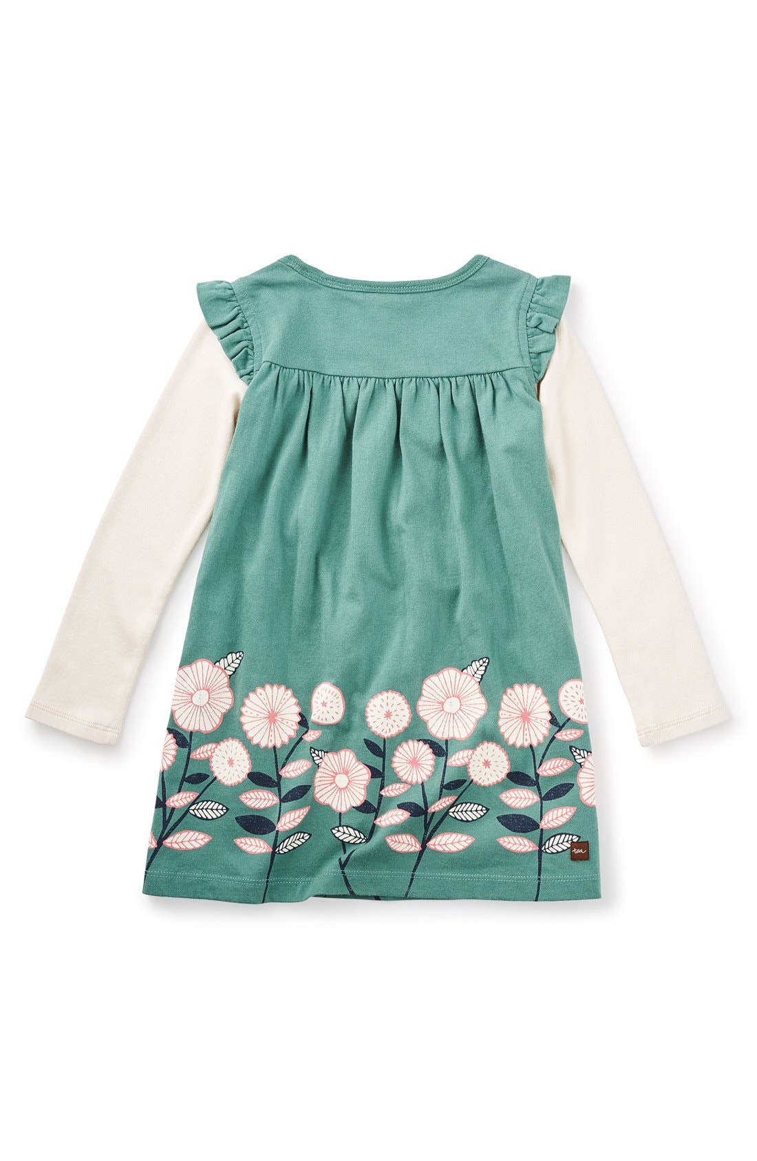 Alternate Image 2  - Tea Collection 'Midori - Double Decker' Layered Dress (Toddler Girls, Little Girls & Big Girls)