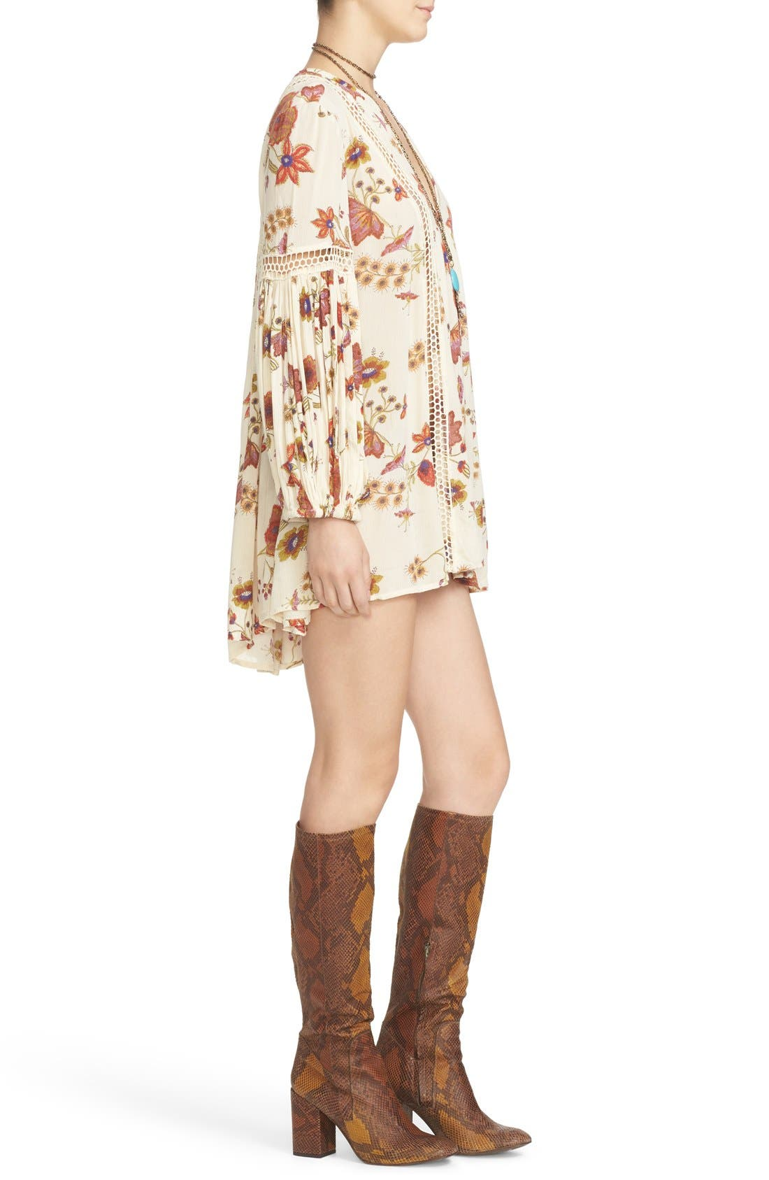 Alternate Image 3  - Free People Just the Two of Us Floral Tunic