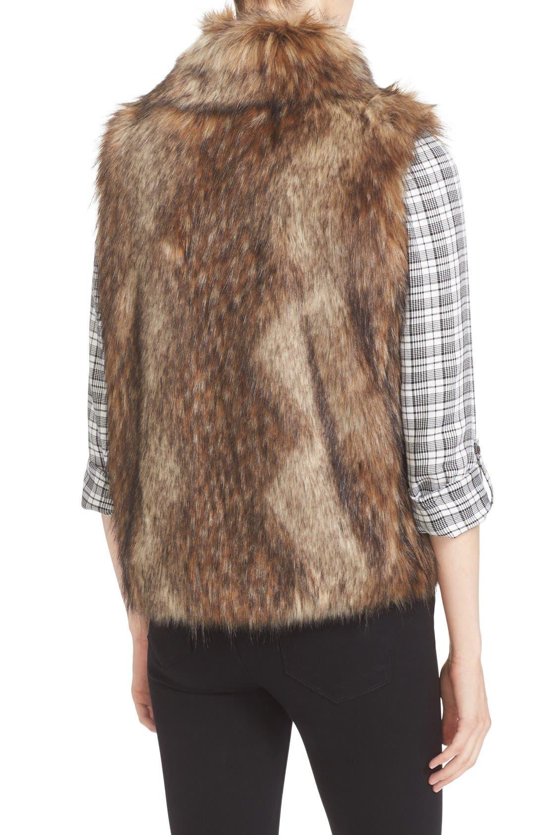 Alternate Image 2  - Soft Joie Narasha Faux Fur Vest