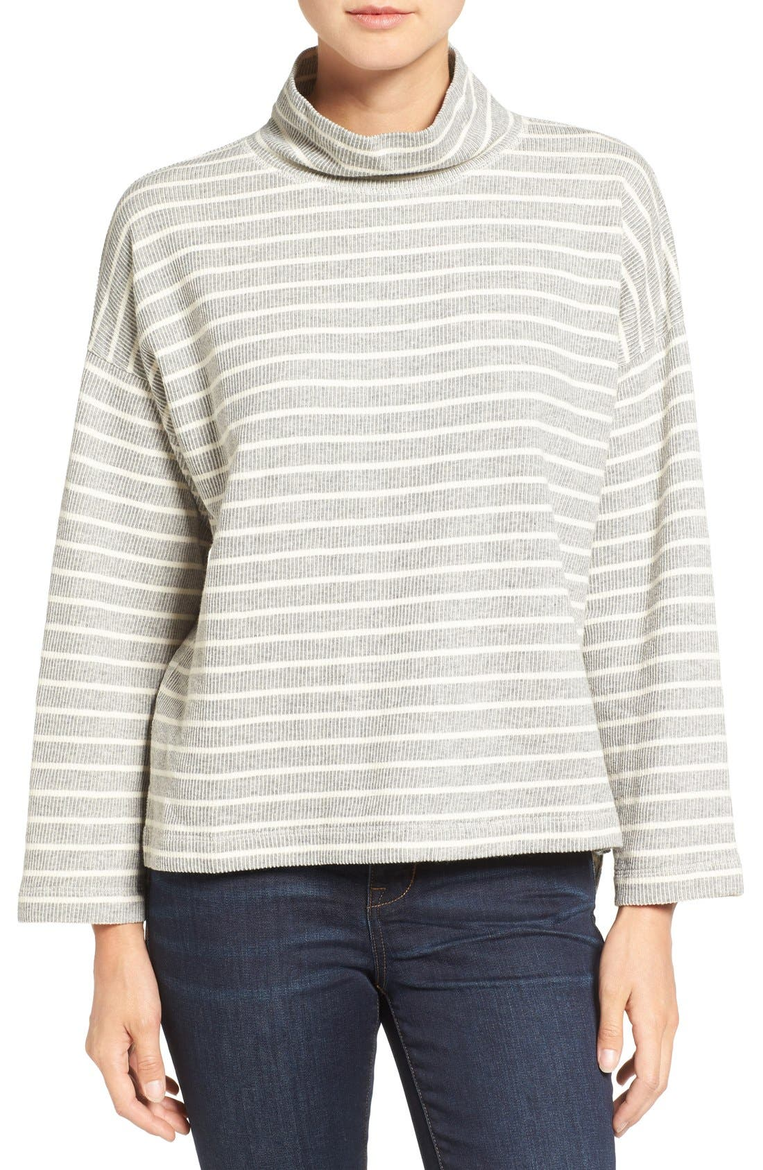 Alternate Image 1 Selected - Madewell Note Funnel Neck Pullover