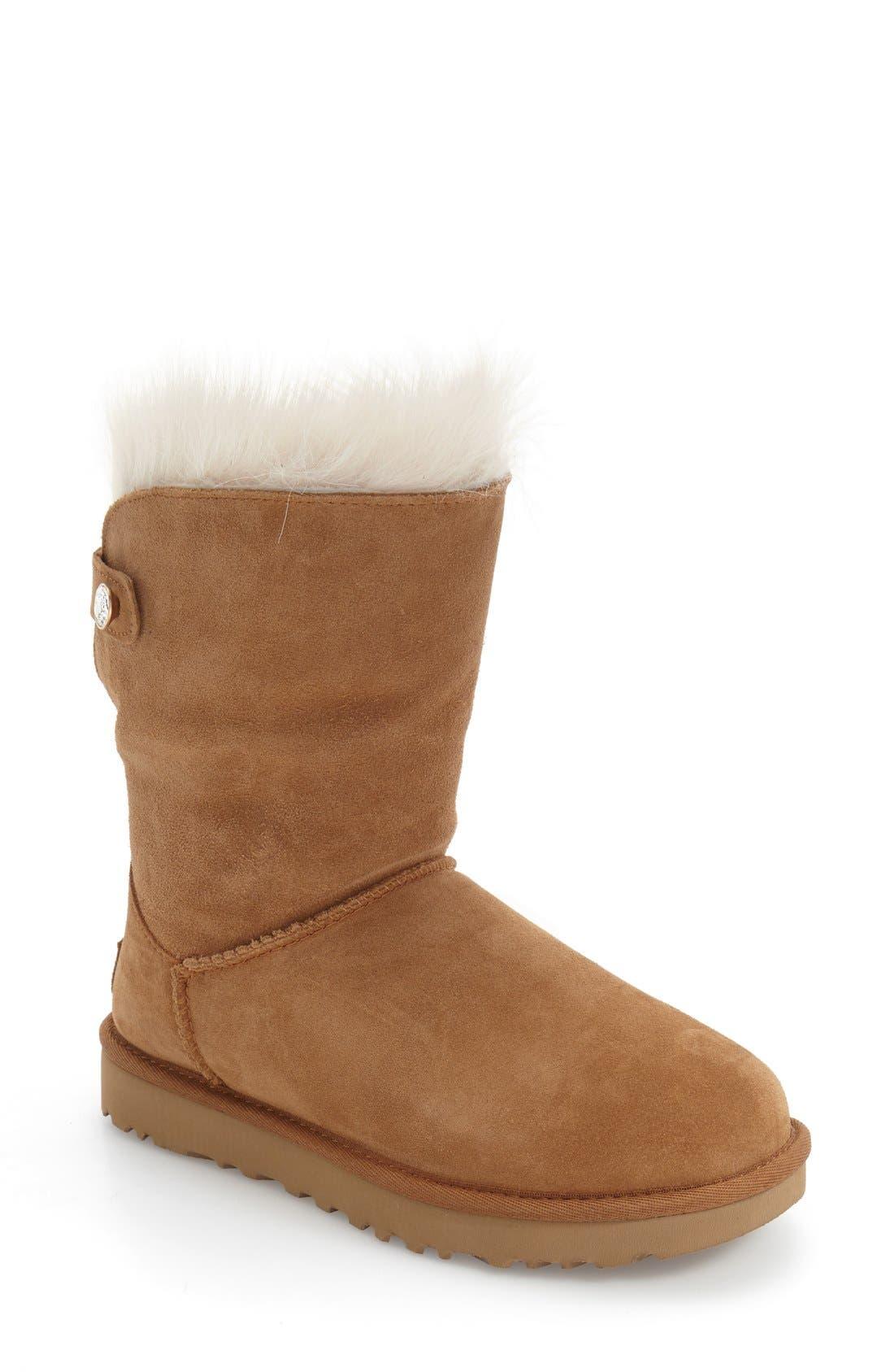 Alternate Image 4  - UGG® 'Valentina' Genuine Shearling Cuff Boot (Women)